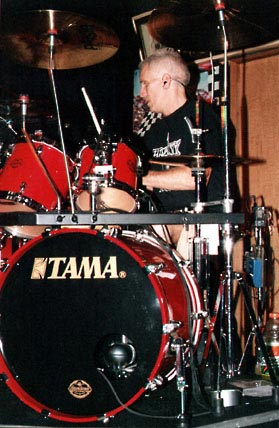 Steve and his kit
